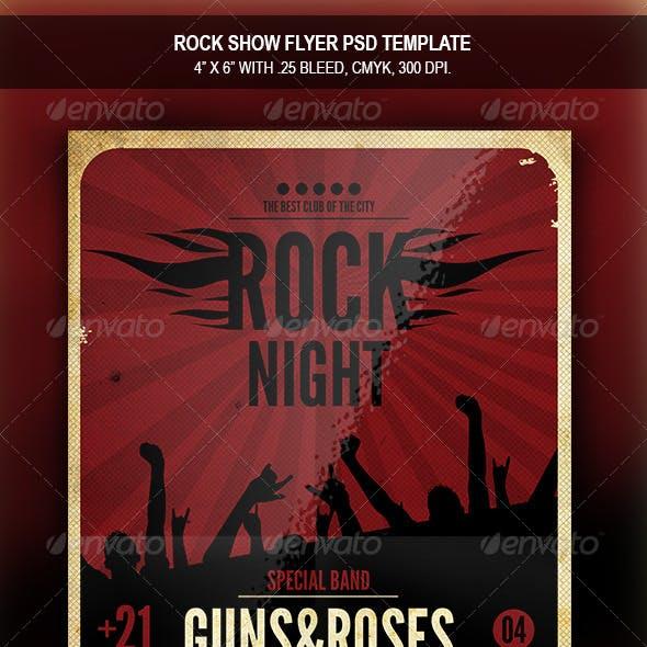 Rock Show | Flyer Template