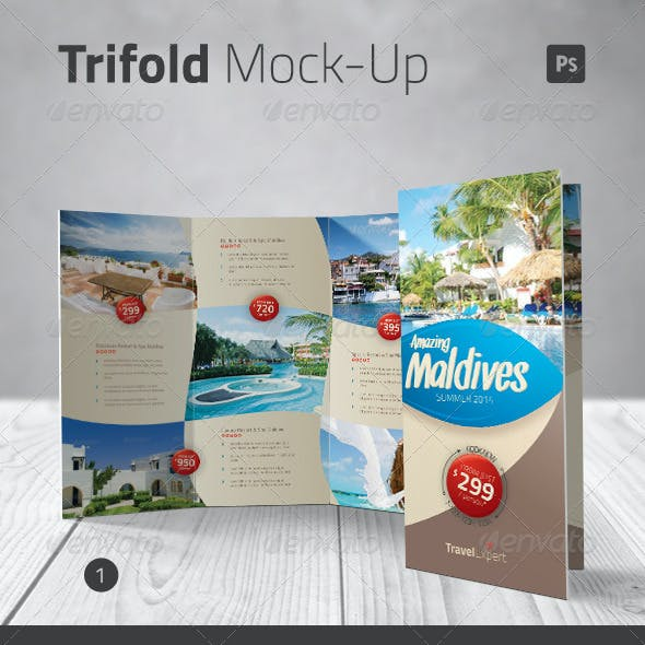 Trifold Mock-up