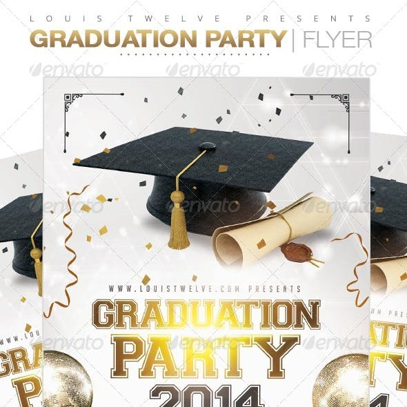 Graduation Party | Flyer Template