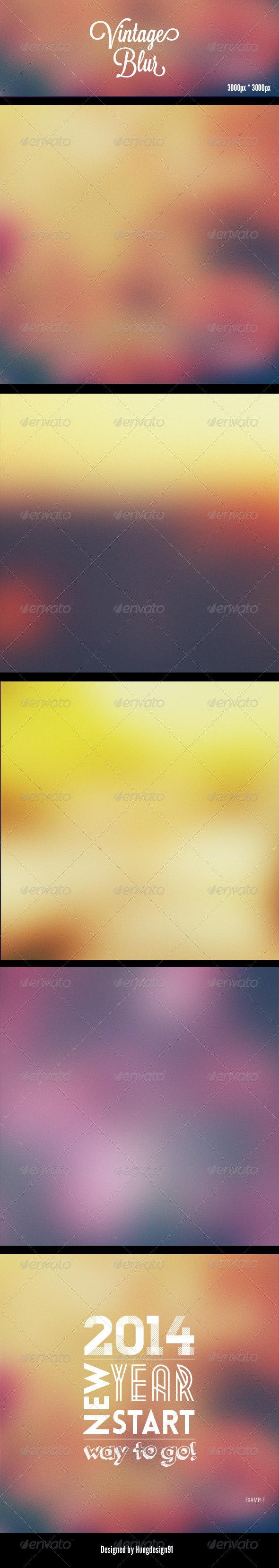 Vintage Blur Backgrounds HD - Backgrounds Graphics