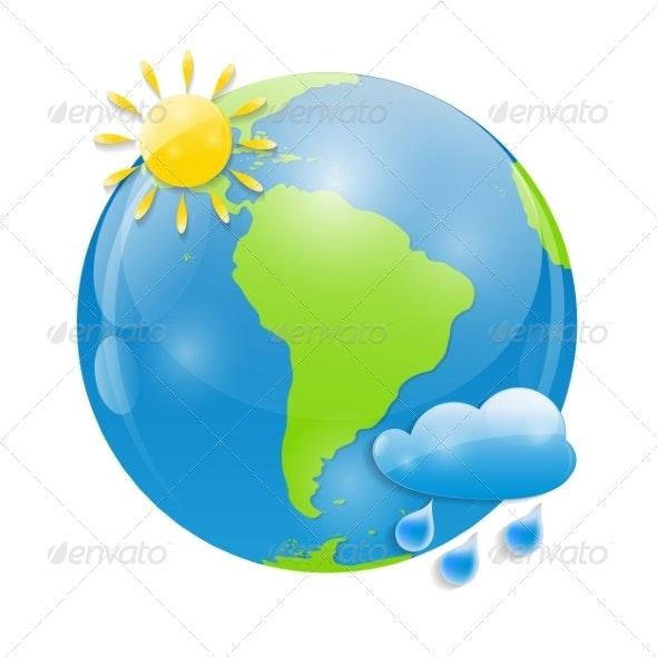 Weather Icon Illustration - Web Technology