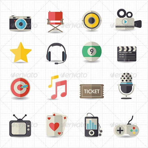 Entertainment Movie Icons