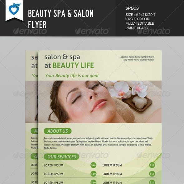 Beauty Spa & Salon Flyer