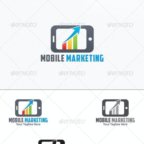 Mobile Marketing - Logo Template