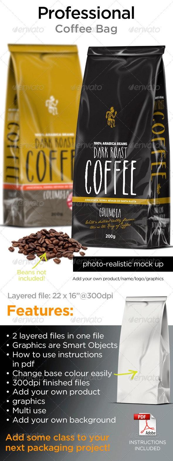 Coffee Bags - Food and Drink Packaging