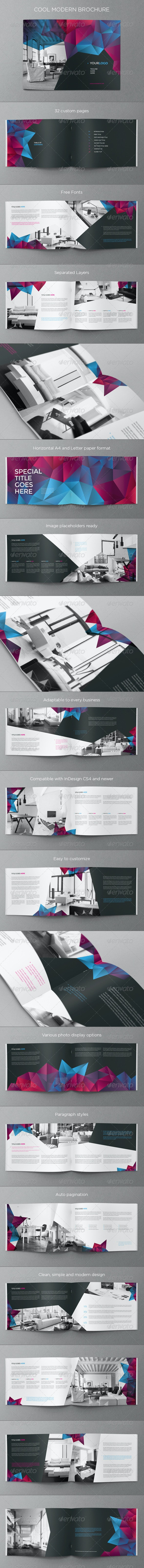 Cool Modern Brochure - Brochures Print Templates