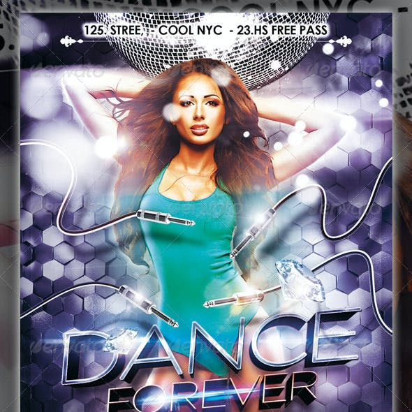 Dance Forever Party Flyer