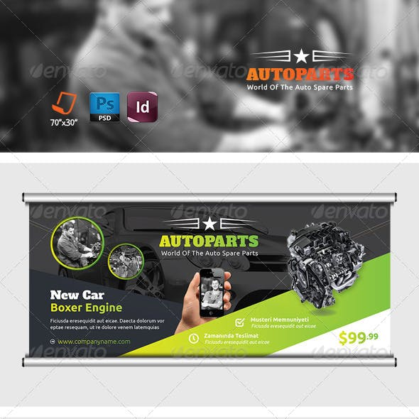 Auto Parts Graphics, Designs & Templates from GraphicRiver