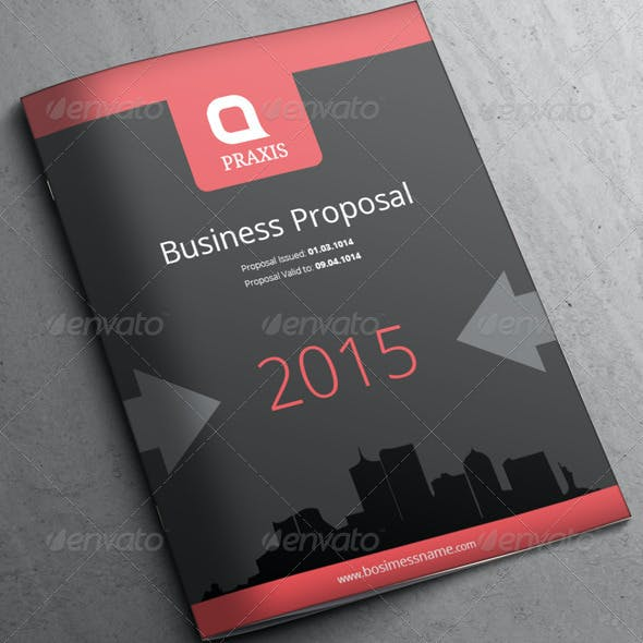 Simple - Business Proposal 14 Pages