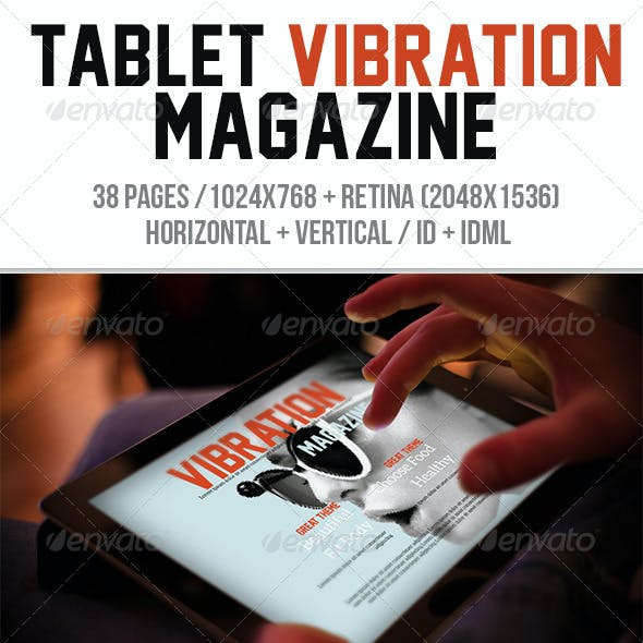 iPad & Tablet Vibration Magazine