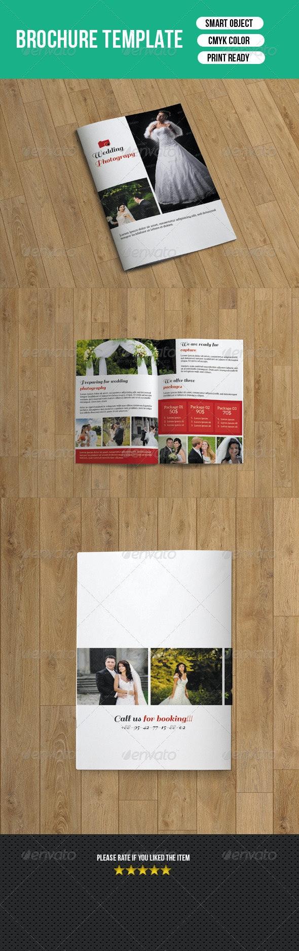 Bifold Wedding Photography Brochure-V15 - Corporate Brochures