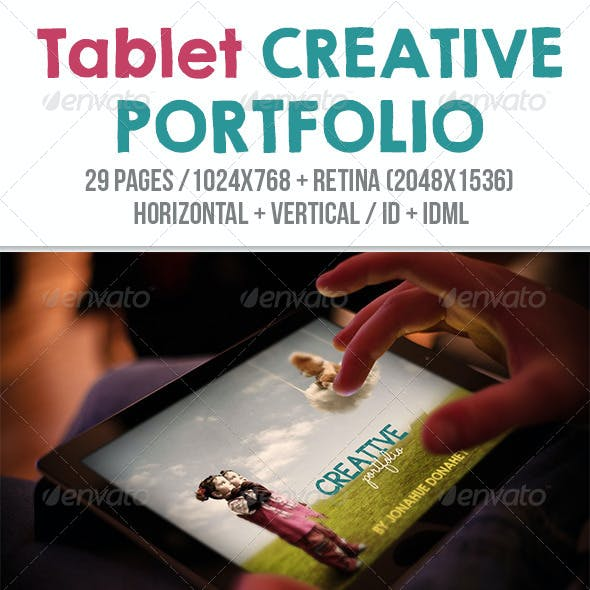 iPad & Tablet Creative Portfolio