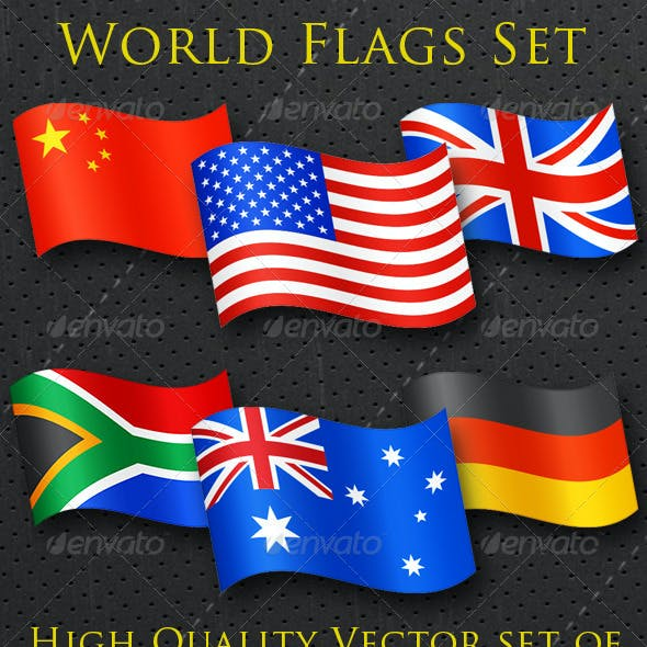 World Flags Complete Set