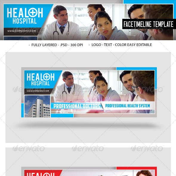 Health Hospital Facetimeline