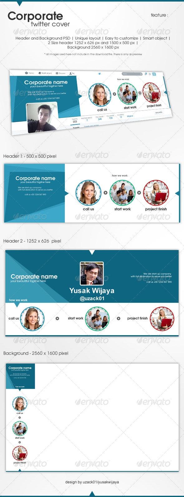 Corporate Twitter - Twitter Social Media