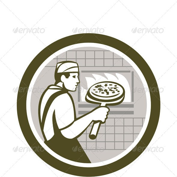 Pizza Maker in Circle