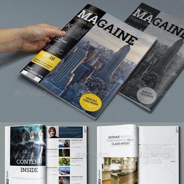 3in1 Magazine Bundle