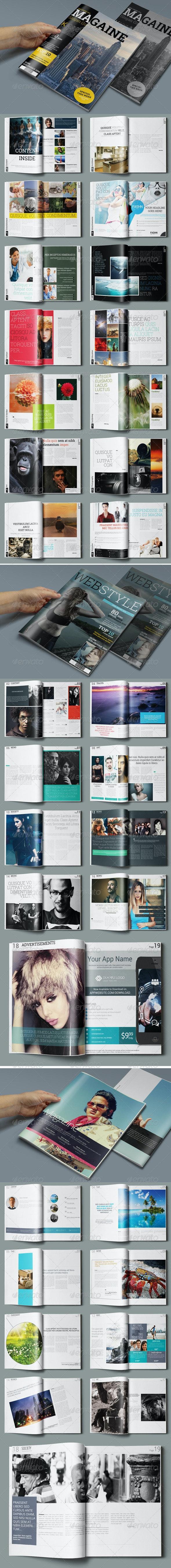3in1 Magazine Bundle - Magazines Print Templates