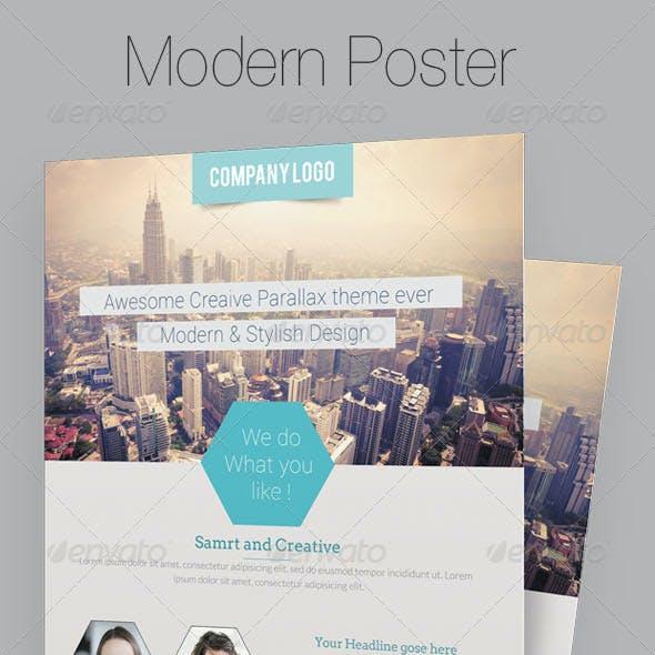 Modern Business Flyer/Poster Template