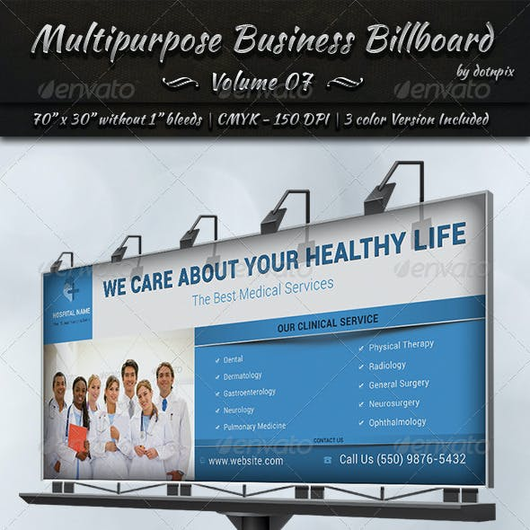 Multipurpose Business Billboard | Volume 7