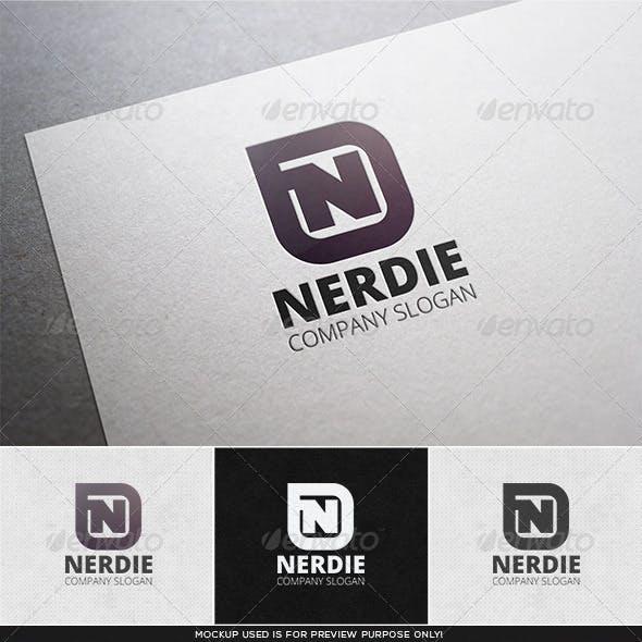 Nerdie Logo Template
