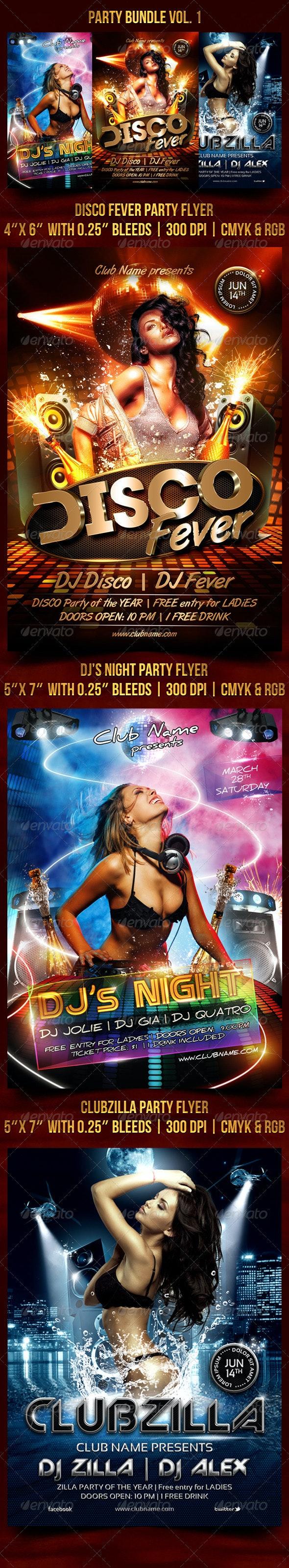 Party Bundle Vol. 1 - Clubs & Parties Events