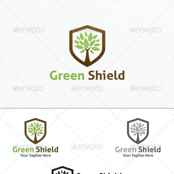 Green Shield - Logo Template