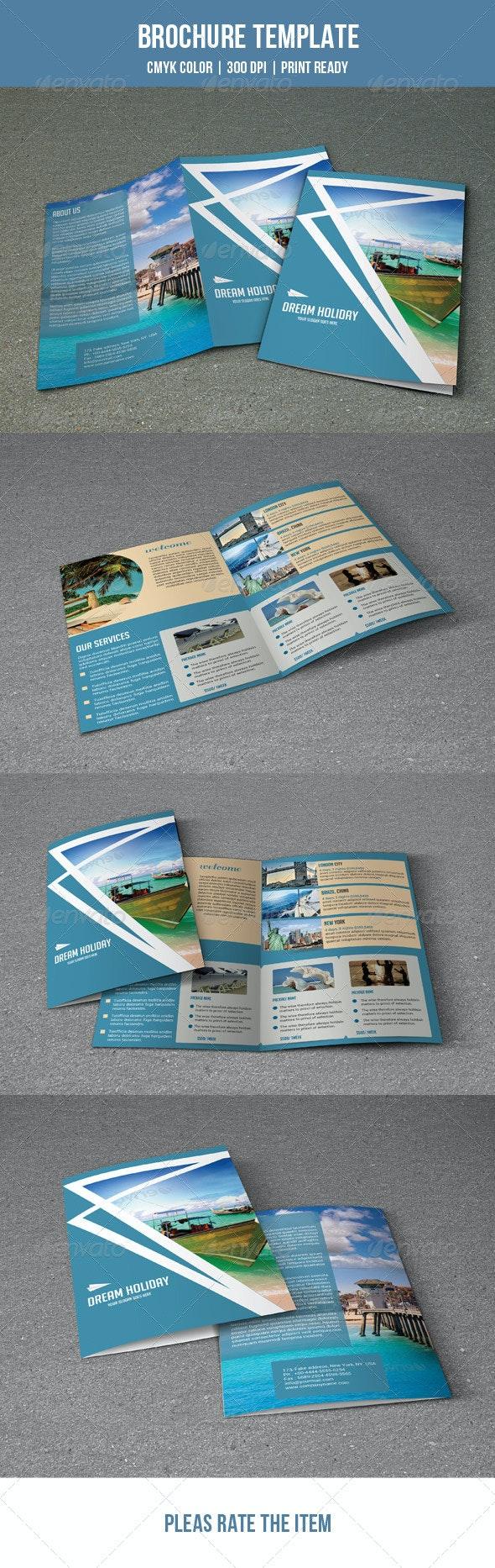 Travel Brochure Template-V18 - Corporate Brochures