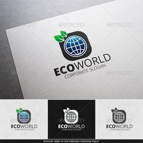 Eco World Logo Template