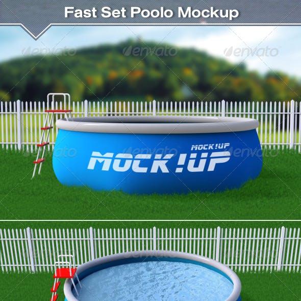 Fast Set Pool Mockup