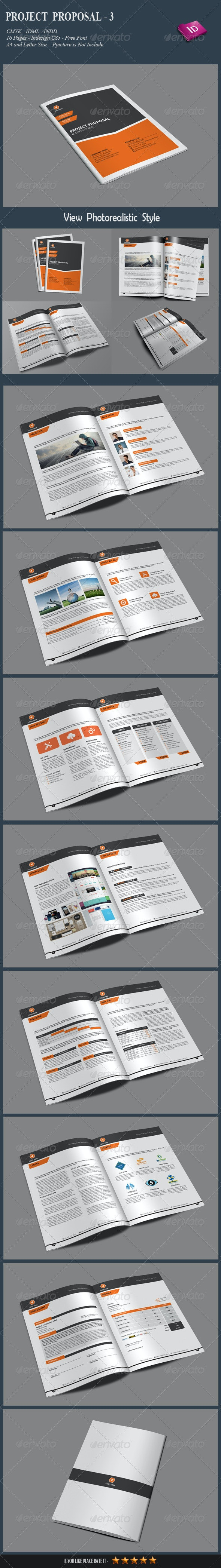 Project Proposal-3 - Proposals & Invoices Stationery