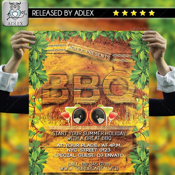 Barbeque BBQ Flyer