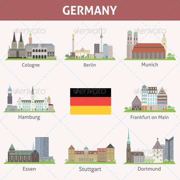 Germany Symbols of Cities