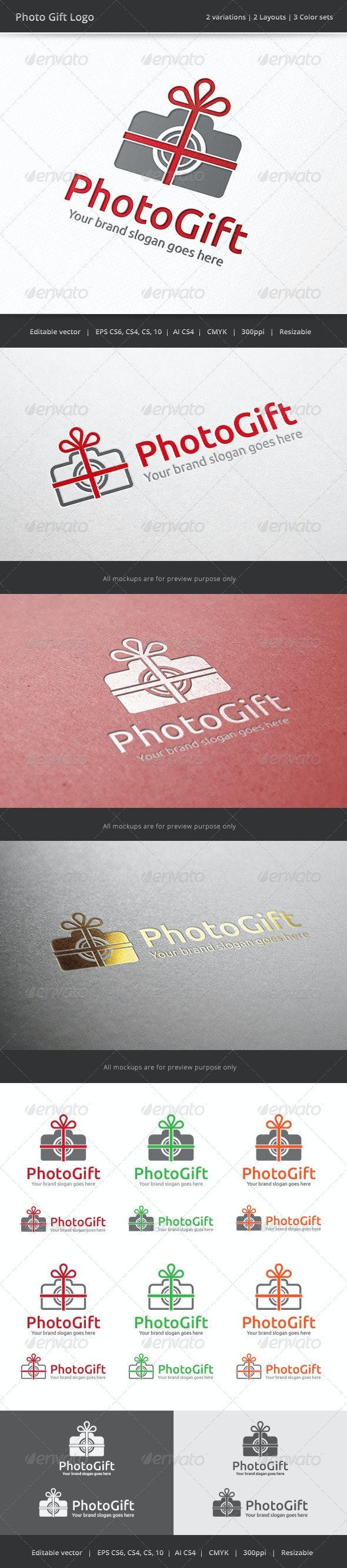 Photo Gift Camera Logo