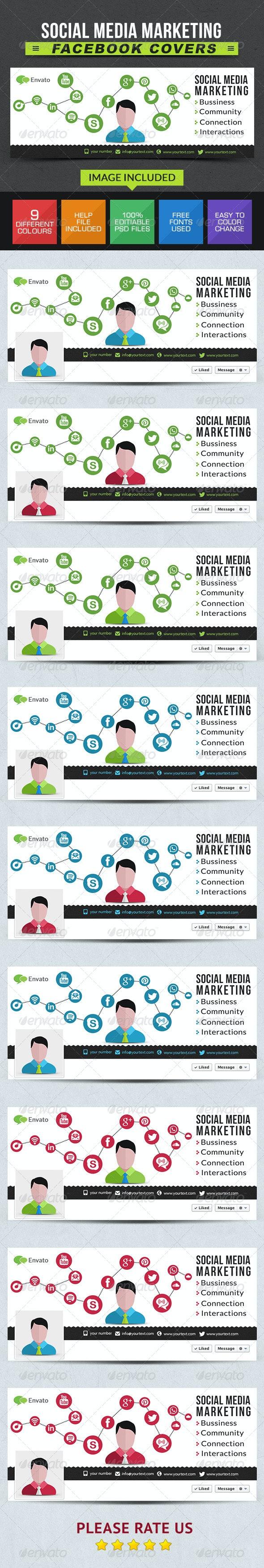 Social Media Marketing Facebook Covers
