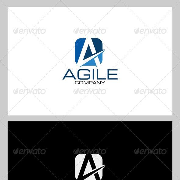 Agile / Letter A Logo