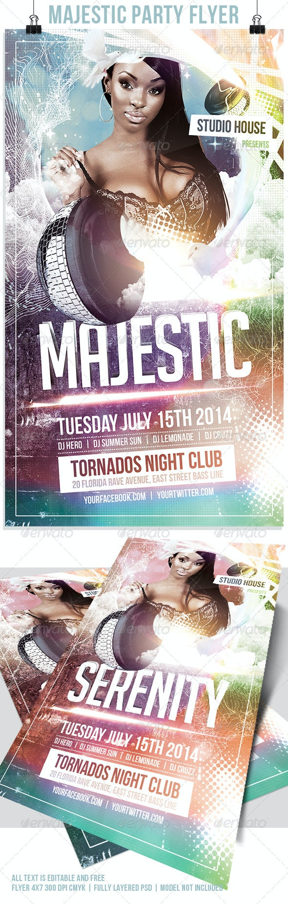 Majestic Flyer Template