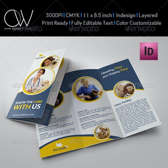 Veterinarian Clinic Brochure Template Vol.2