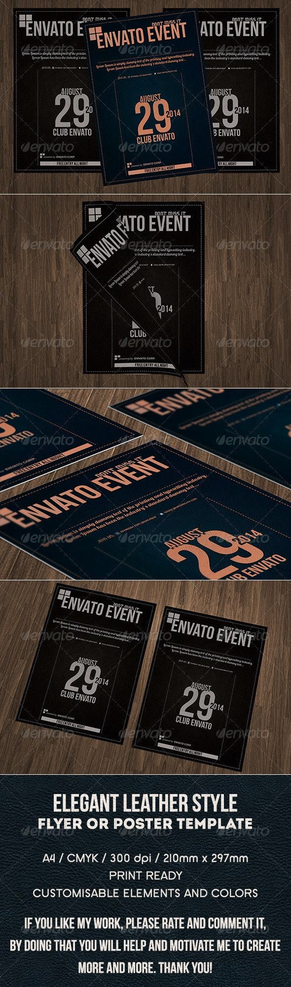 Elegant Multipurpose a4 Flyer or Poster