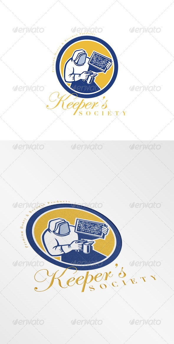 Keeper's Society Premium Honey Logo