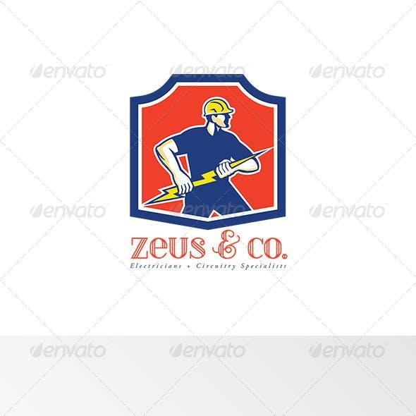 Zeus and Co Electricians Logo
