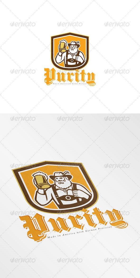 Purity Made in America German Beer Logo