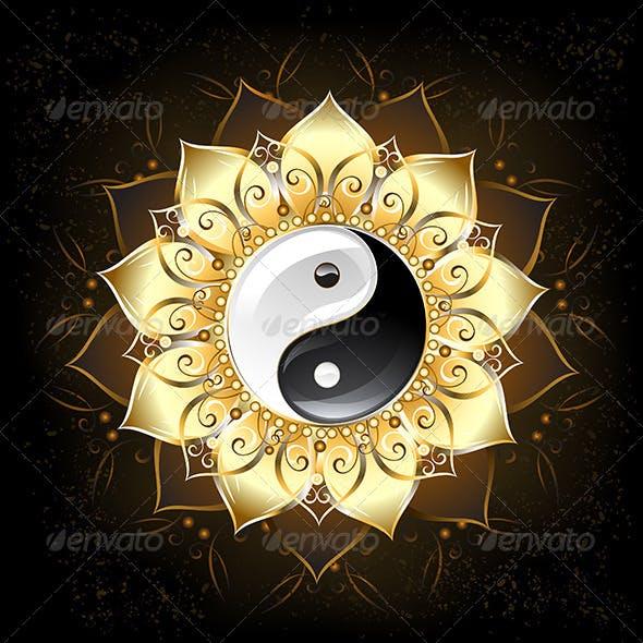 YinYang(Yin-Yang) Golden Lotus