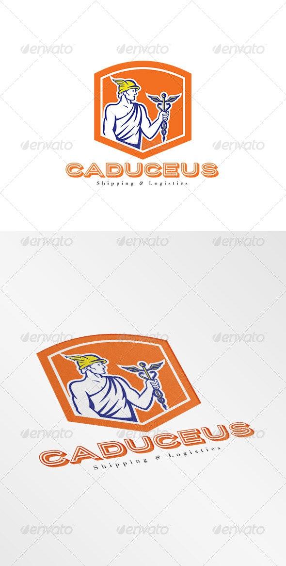 Caduceus Shipping and Logistics Logo