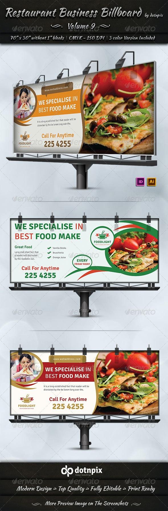 Restaurant Business Billboard   Volume 9