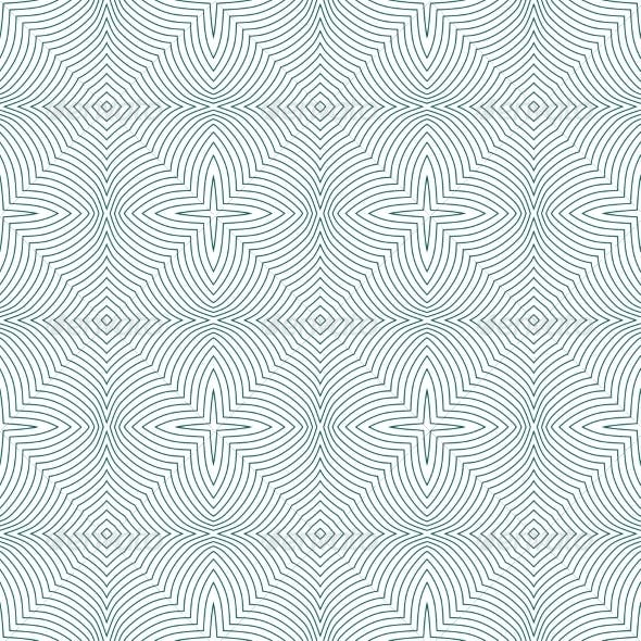 Vector Seamless Guilloche Background
