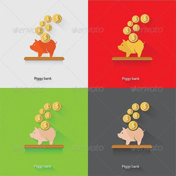 Piggy Bank - Miscellaneous Conceptual