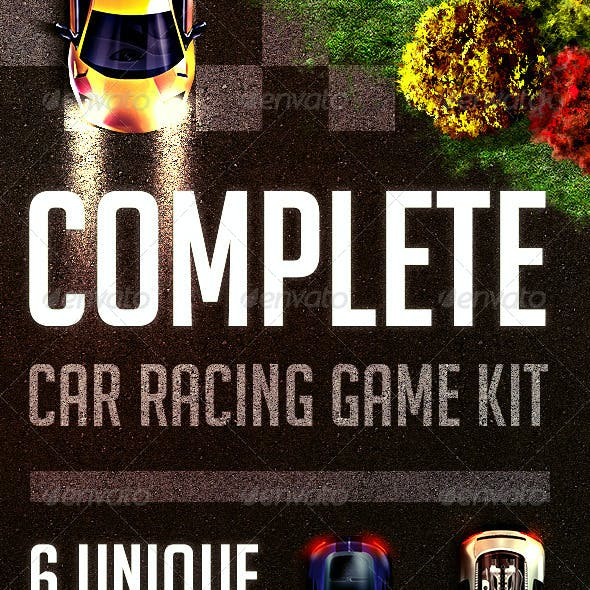 Complete Car Racing Game Kit