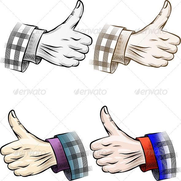 Thumb up Set