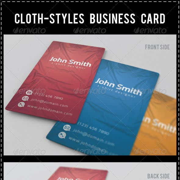 Cloth-Styles Business Card